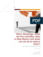 project 2 police shootings