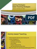 54942919 Teaching Strategies Activity Based Learning Teaching Strategies