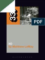 Elliott Smith's XO - Matthew LeMay