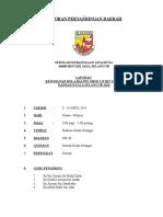 Laporan Kejohanan Mssd Handball b12