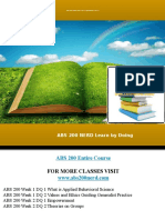 ABS 200 NERD Learn by Doing