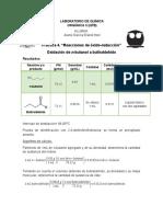 Práctica 4. Reacciones de óxido-reducción