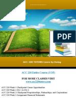 Acc 220 Tutors Learn by Doing