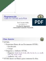 Clase Programación 5 A