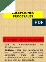 2.EXCEPCIONES PROCESALES
