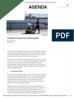 5 Trends for the Future of Economic Growth - Agenda - The World Economic Forum