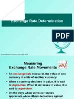 Determination of Foreign Exchange Chapter 4