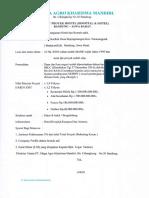 Summary Proyek Hostel ( Hospital & Hotel ) Bandung