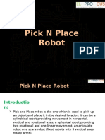 RF Based Pick And Place Robotic Arm