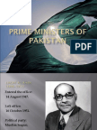 Prime Ministers Of Pakistan