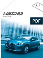 Mazda2 SkyActiv User Manual