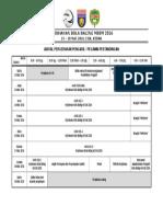 Jadual Bengkel Pengelolaan Dan Pengurusan Kejohanan Bola Sepak MSSM