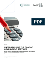 Roland Berger - Understanding the Cost of Government Services