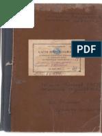Cartea protocoalelor ședințelor comitetului împlinitor al Sovetului sătesc al deputaților truditorilor din s. Sturzeni al Raionului Rîșcani de anii 1955 - 56