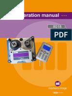 8018 Operation Manual Rev CB English