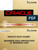 Oracle DataGuard Online Training in USA | INDIA