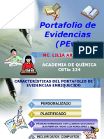 Portafolio de Evidencias POWERPOINT