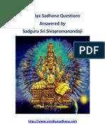 Srividya Sadhana eBook