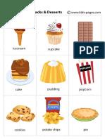 Snacks Desserts