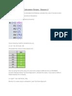 Calculation Scripts Session 4