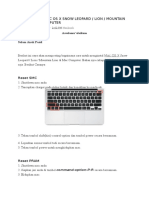 Cara Install Macbook