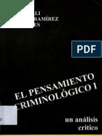 Bergalli, r; Bustos, j y Miralles, t - El pensamiento criminologico i