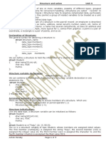 c Unit 9 Structure and Union Print