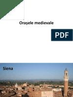 orașe medievale