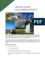 Manfaat Dan Kerugian Energi