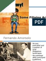 Filipino Painters & Sculpture & Architecturearce