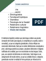 Tema 8y9 Elrelativismo Lingüístico