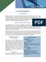 Life Settlement Sales Strategy
