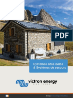 Brochure Victron Energy - Solaire