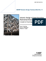 Seismic Design Restrained Braced Frames
