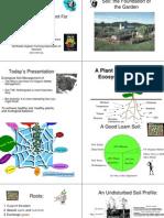 Ecological Soil Management for Organic Gardeners