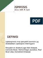 EPIDEMIOLOGI LEPTOSPIROSIS