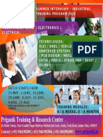 Summer-Training B-Tech, M-Tech 2016 in Jaipur.Summer Training Program