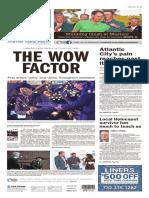 Asbury Park Press front page, Monday, April 11, 2016
