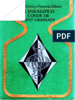 EL ENIGMÁTICO CONDE DE SAINT GERMAIN  de Pierre CERIA & Francois ETHUIN