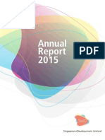 Singapore eDevelopment Limited Annual Report 2015