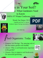 Organic Gardening - Who is in Your Soil