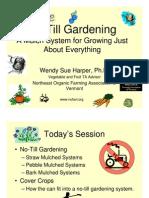 Organic Gardening - No-Till Gardening
