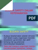 Budaya Safety Dalam Keperawatan