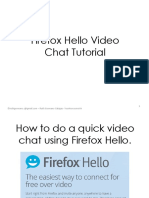 How to Do Quick Video Chat With Firefox Hello