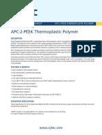 Material Apc-2 Peek Cytec