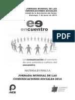 Materiales Jornada Mundial de Las Comunicaciones Sociales 2014
