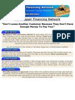 Auto Repair Financing Network