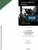 Cassirer Ernst - O teorii względności Einsteina