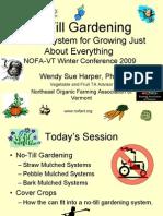 Organic Gardening - No-Till Gardening - Introduction