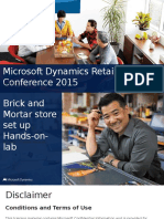 Microsoft Dynamics Retail Conference 2015 Part 2 Brick and Mortar Store Set Up (PPTX)